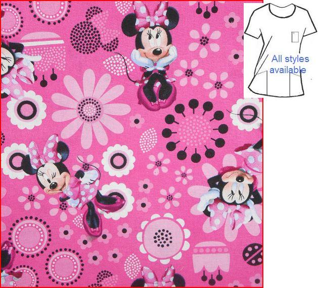 Cutest Minnie Mouse cartoon Scrubs